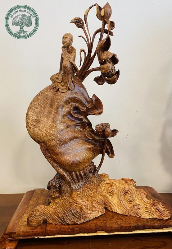 tượng gỗ nu cẩm lai
