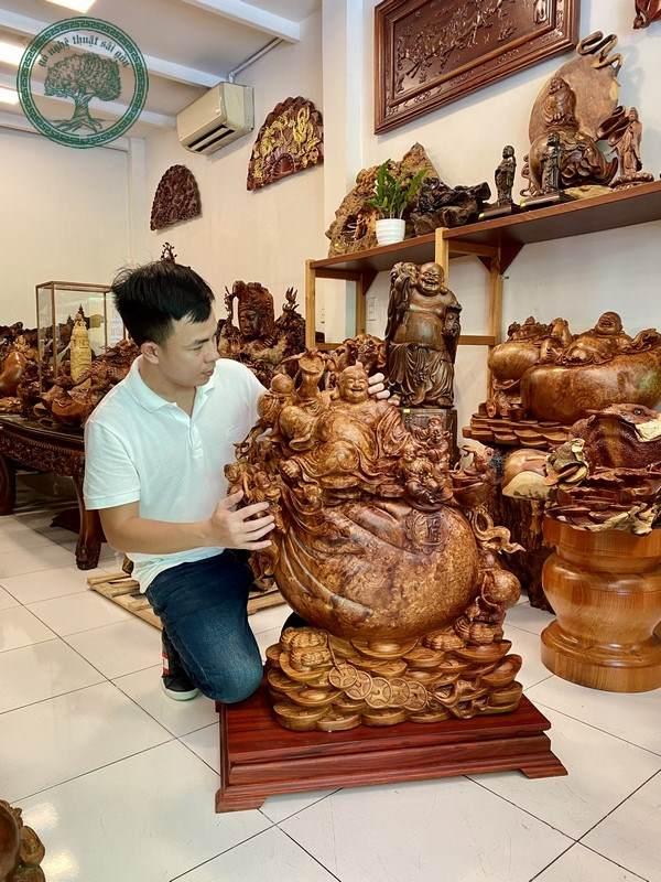 tượng gỗ nu hương giá trị cao