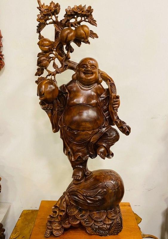 tượng gỗ xá xị